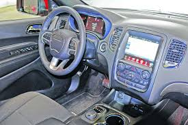 2014 dodge durango interior still large in charge 2014 dodge durango times union