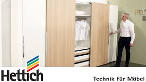 Wardrobes For Bedrooms by Technology For Furniture In Bedrooms Hettich Sliding Door