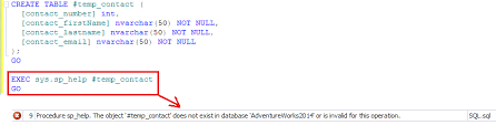 Create Temporary Table Sql Server Story Of Temporary Objects Sql Authority With Pinal