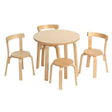 amazon childrens table and chairs www amazon com tot tutors natural primary collection dp b001tznwhi