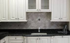 Kitchen Counter And Backsplash Ideas Backsplash Ideas For Blue Pearl Granite Diamond Pattern Ivory