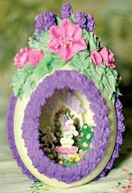 sugar easter egg how to make diorama sugar eggs egg sugaring and easter