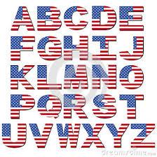 17 american flag font letters images american flag font