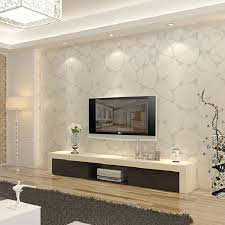 Background Wall Mirror Wall Tiles Contemporary Bedroom by T Non Woven Wallpaper Modern Brief Pearl Silver Bird Nest Tv