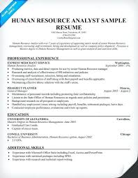 human resources resume exles resume for human resources lidazayiflama info