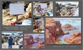 enlarged image demo painting demos
