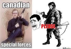 Special Forces Meme - canadian special forces by gunmemes meme center
