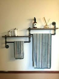 Wood Bathroom Towel Racks Bathroom Towel Ideas Furniture Brown Wood Bathroom Towel Rack