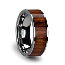 wooden wedding bands wooden wedding rings larson jewelers