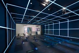 the nike studio beijing by coordination asia gym ideas