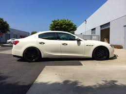 maserati trident wheels maserati ghibli lowered on megan coilovers and 20