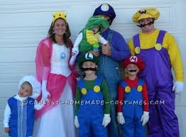 coolest 45 homemade mario brothers couples groups costumes