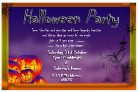 halloween birthday invite halloween invitation card invitation templates