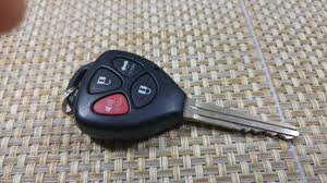 toyota yaris remote key not working how to replace keyless entry key fob battery on a toyota corolla