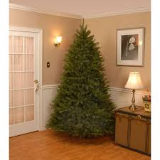 unlit artificial christmas trees national tree company 7 5 ft dunhill fir hinged artificial