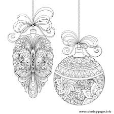 christmas ornaments irinarivoruchko coloring pages printable