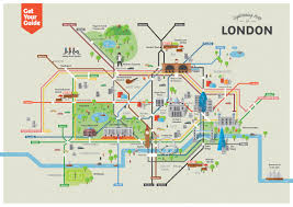 Chelsea Gallery Map Map Of London With Attractions 5 Sightseeing On World Maps