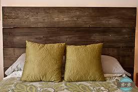 Reclaimed Wood Headboard by Reclaimed Wood Headboard Brushes U0026 Burp Cloths