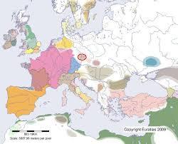 bohemia map euratlas periodis web map of bohemia in year 700
