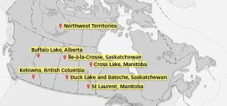 Canada Territories Map by Standing Senate Committee On Aboriginal Peoples U201cthe People Who