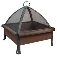 Home Depot Firepits by Landmann The Tudor Patio Fire Pit 25413 The Home Depot