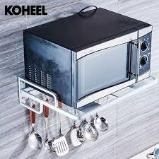 grille de cuisine mur monté cuisine racks cuisine micro ondes grille du four suspendu