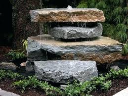 Rock Garden Features Garden Water Features Ideas Deck Water Feature Ideas Garden Water