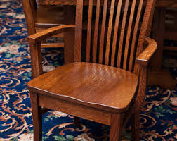 Mission Oak Dining Chairs Mission Oak Etsy