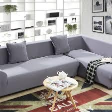 stretch sofa slipcover online get cheap grey slipcovers aliexpress com alibaba group