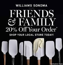 williams sonoma friends and family event newport beach chamber