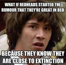 Morbid Memes - dump a day keanu reeves meme funny redheads in bed dump a day