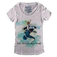 the neverending story t shirt retro magic store