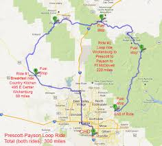 Phoenix Airport Map by Riding Maps Foothills H O G Chandler Arizona