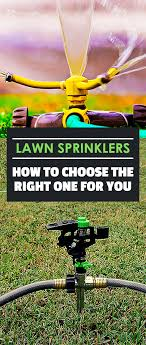 best lawn sprinkler oscillating rotary stationary or traveling