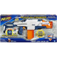 nerf car gun nerf n strike elite nerf cam ecs 12 blaster walmart com