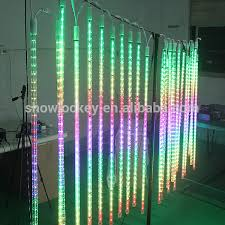 multi color led snow falling light 3d outdoor led hanging