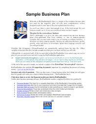 easy business plan template consciousbeingwellness com sales