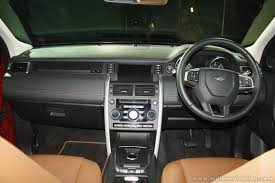 land rover discovery 2016 interior land rover discovery sport petrol launched in india