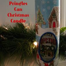a retro craft project christmas dioramas made from pringles