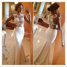 wedding dress suppliers summer 2016 lace wedding dresses sheer neck see through