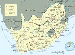 Continent Of Africa Map by Tourist Guide South Africa Map Pretoria Johannesburg And Cape Town