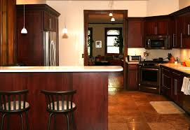 decorating ideas kitchens pictures of kitchens with cherry cabinets grey metal gas stove