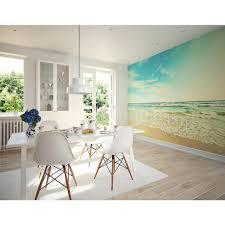 paradise beach wall mural wr50525 the home depot seashore wall mural