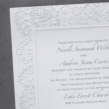 embossed wedding invitations embossed wedding invitations with beautiful and best design ideas