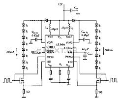 light laser led u003e led circuits u003e automotive led driver circuit