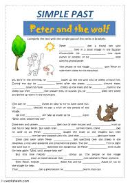 past simple interactive worksheets