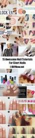 15 awesome nail tutorials for short nails u2013 diynow net
