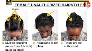 female soldiers declare army u0027s new hair regulation racially biased