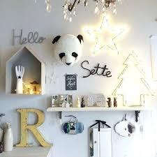 deco mur chambre deco mur chambre bebe trophee tete panda decoration murale pour