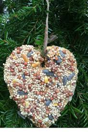 how to make the easiest valentine u0027s day bird seed ornaments ornament